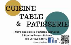 CUISINE TABLE & PATISSERIE