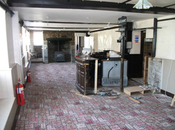 Old bar and carpet has to go!