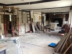 Front bar renovation