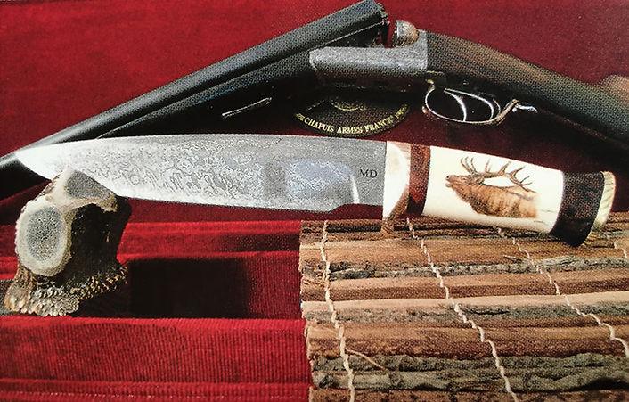 lames de saint laurent couteau Didier MOINEL