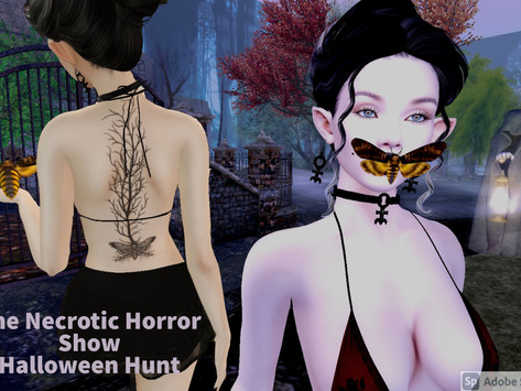 #146 - October is time for The Necrotic Horror Show!