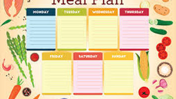 7 Day Detox and Raw Meal Plan
