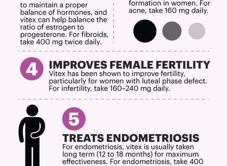 Nine Benefits to Chaste Berry Vitex