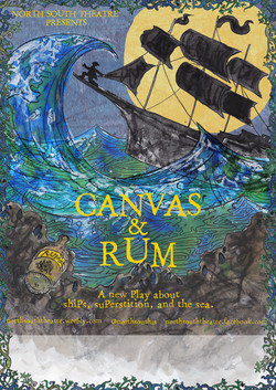 Canvas and Rum Poster