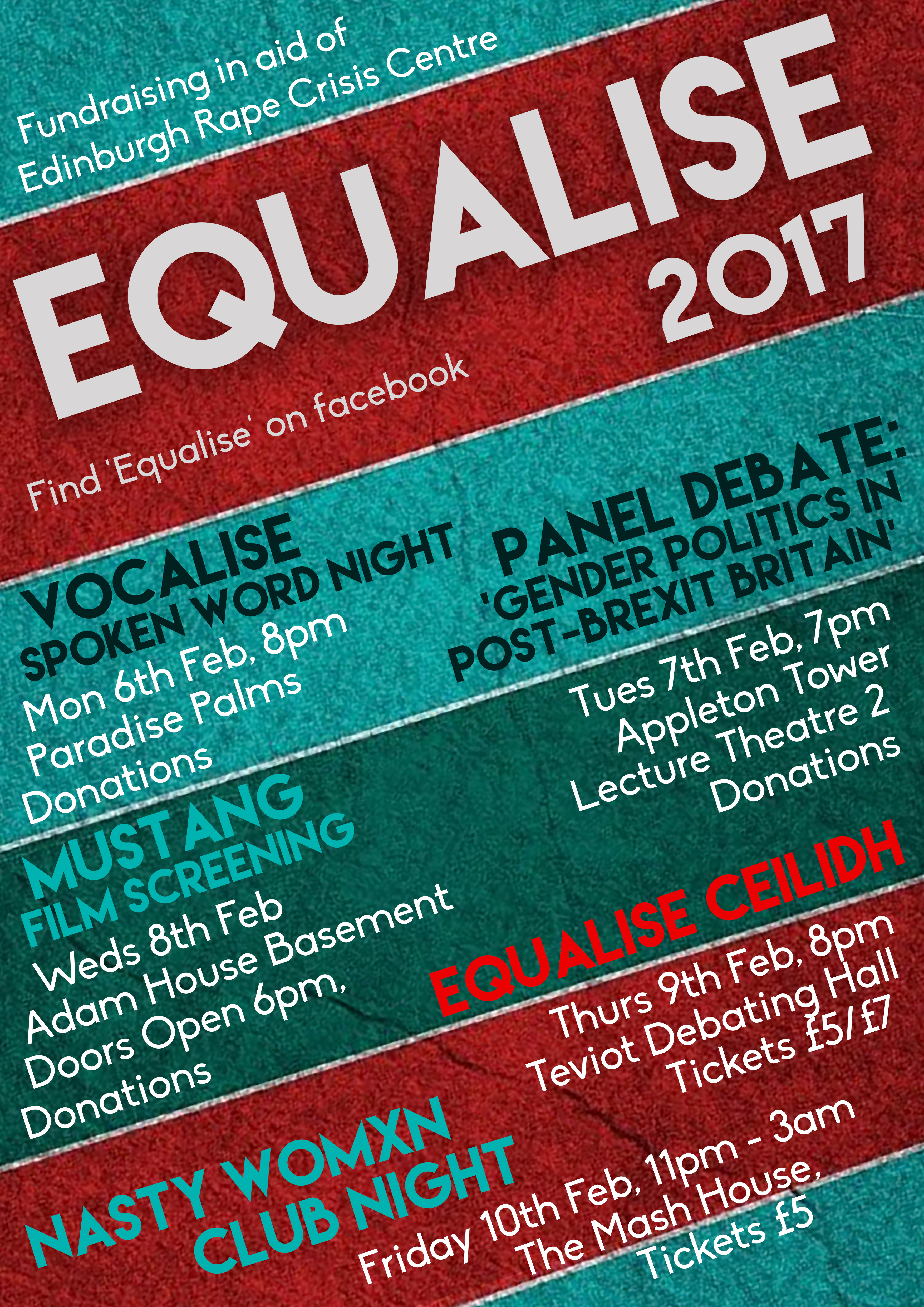 EQUALISE 2017 Main Poster