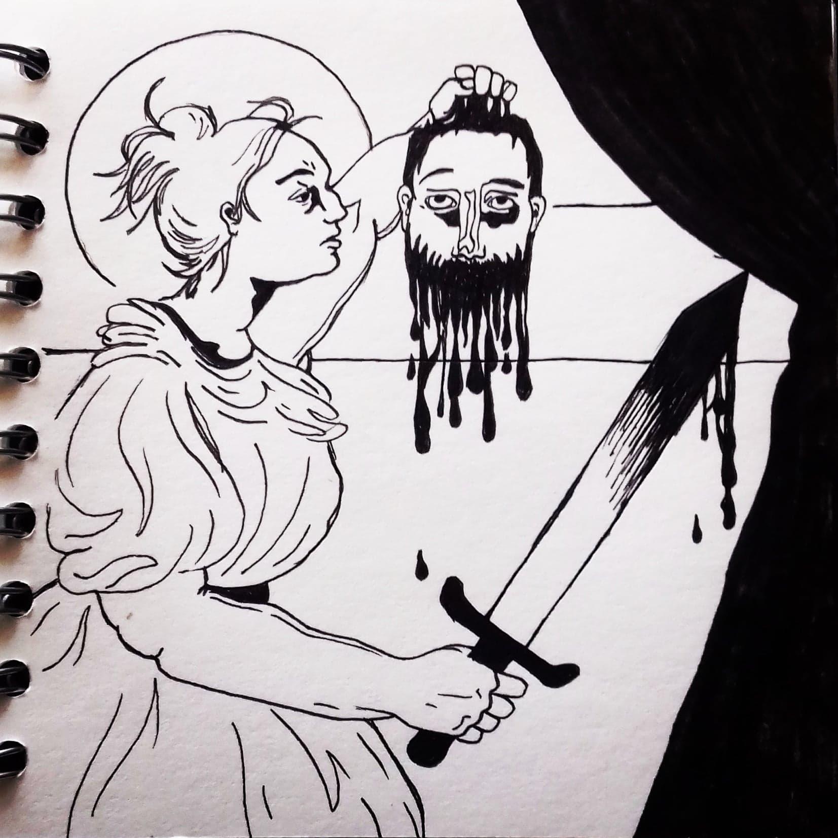 'Judith': Inktober 2018
