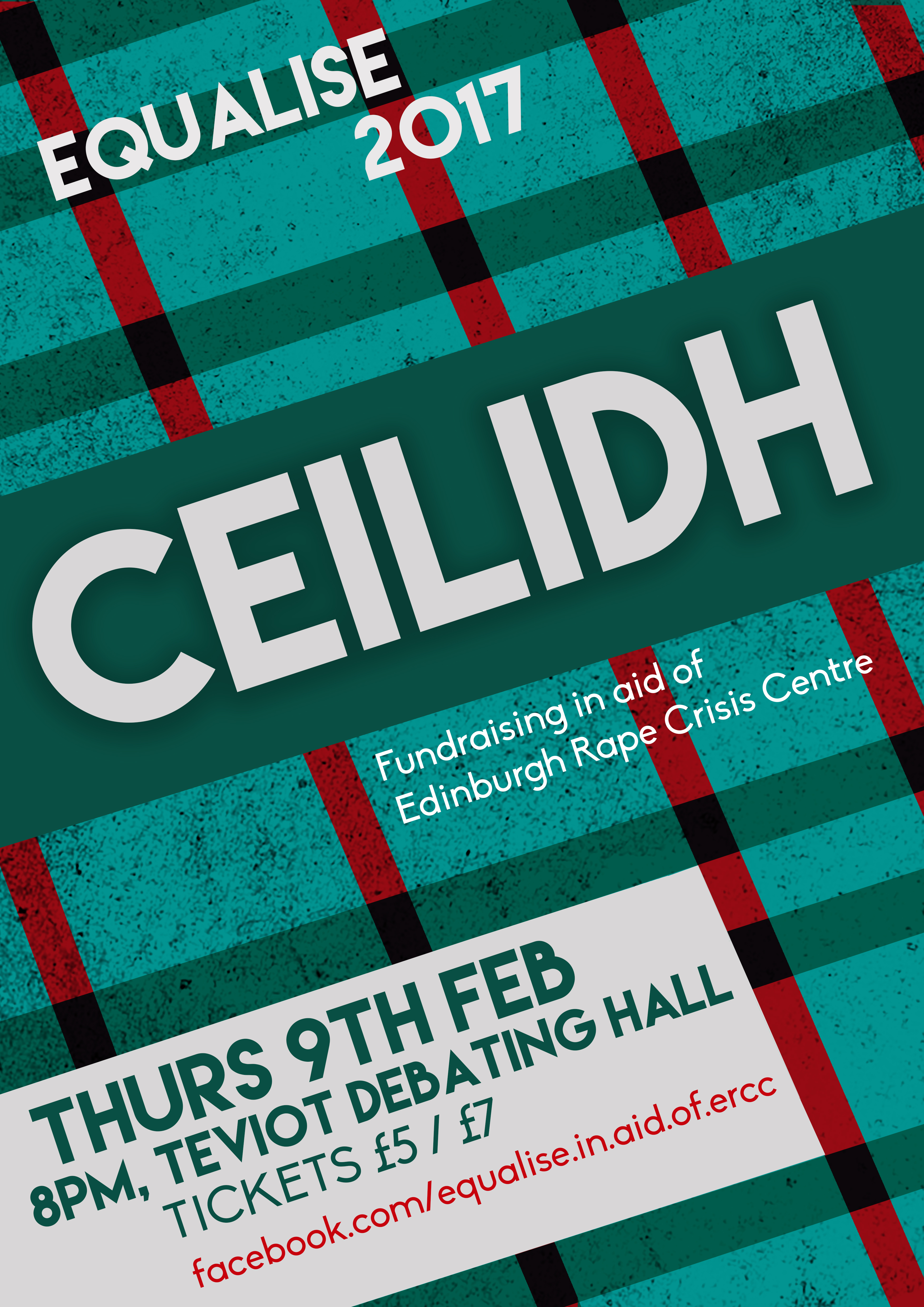 EQUALISE 2017 Ceilidh Poster