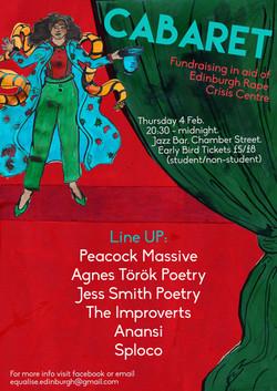 Equalise Cabaret Poster