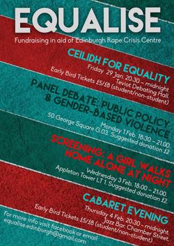 Equalise Week Poster