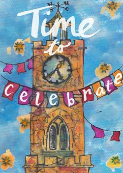 Clocktower Card