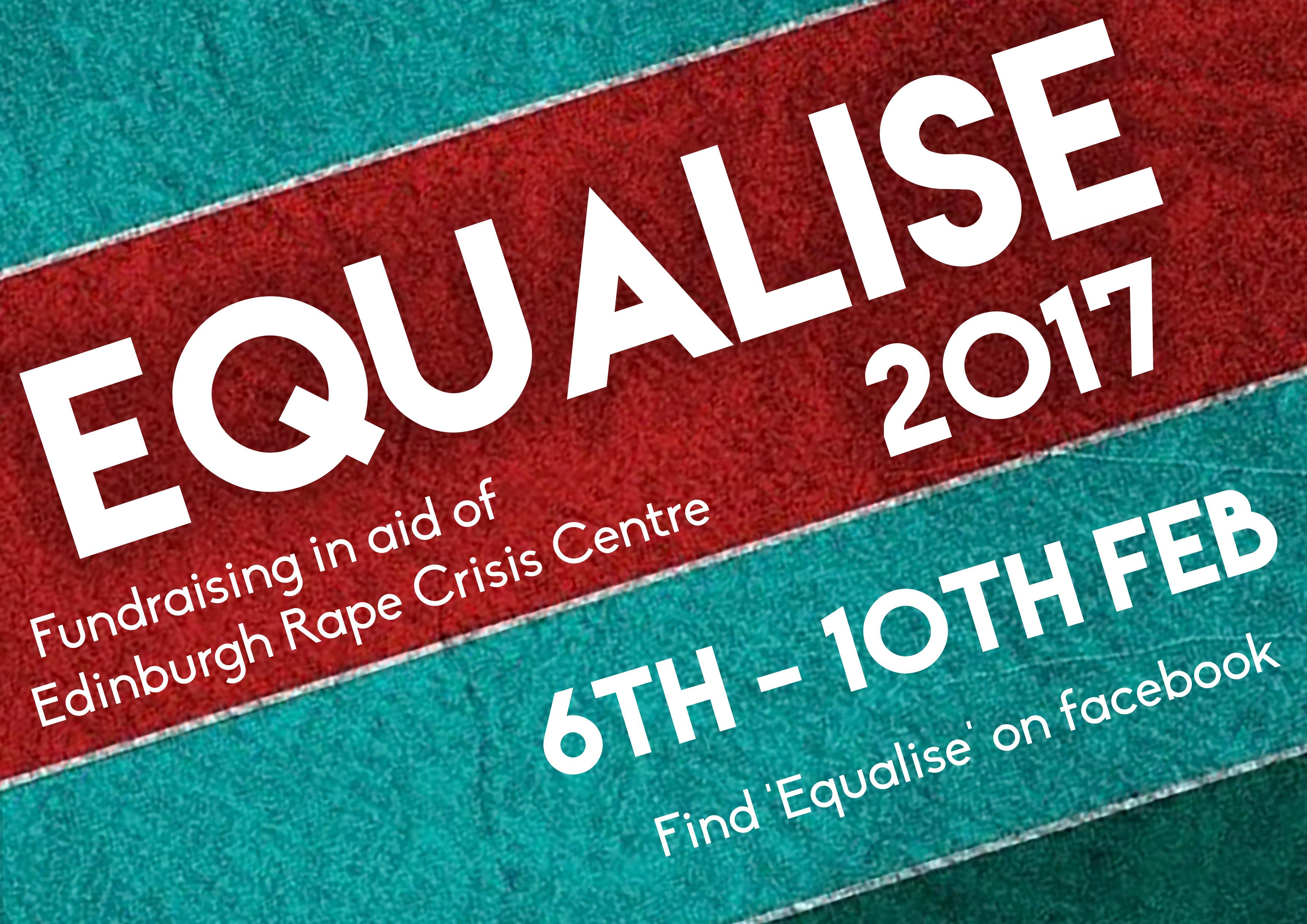 EQUALISE 2017 Flyer Front
