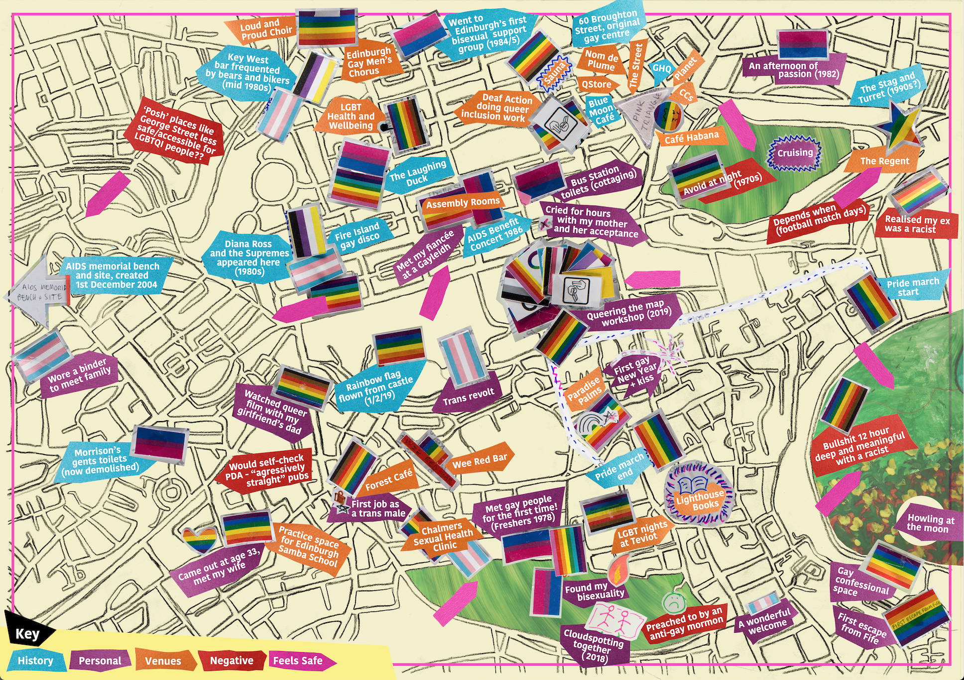 Queering the Map of Edinburgh
