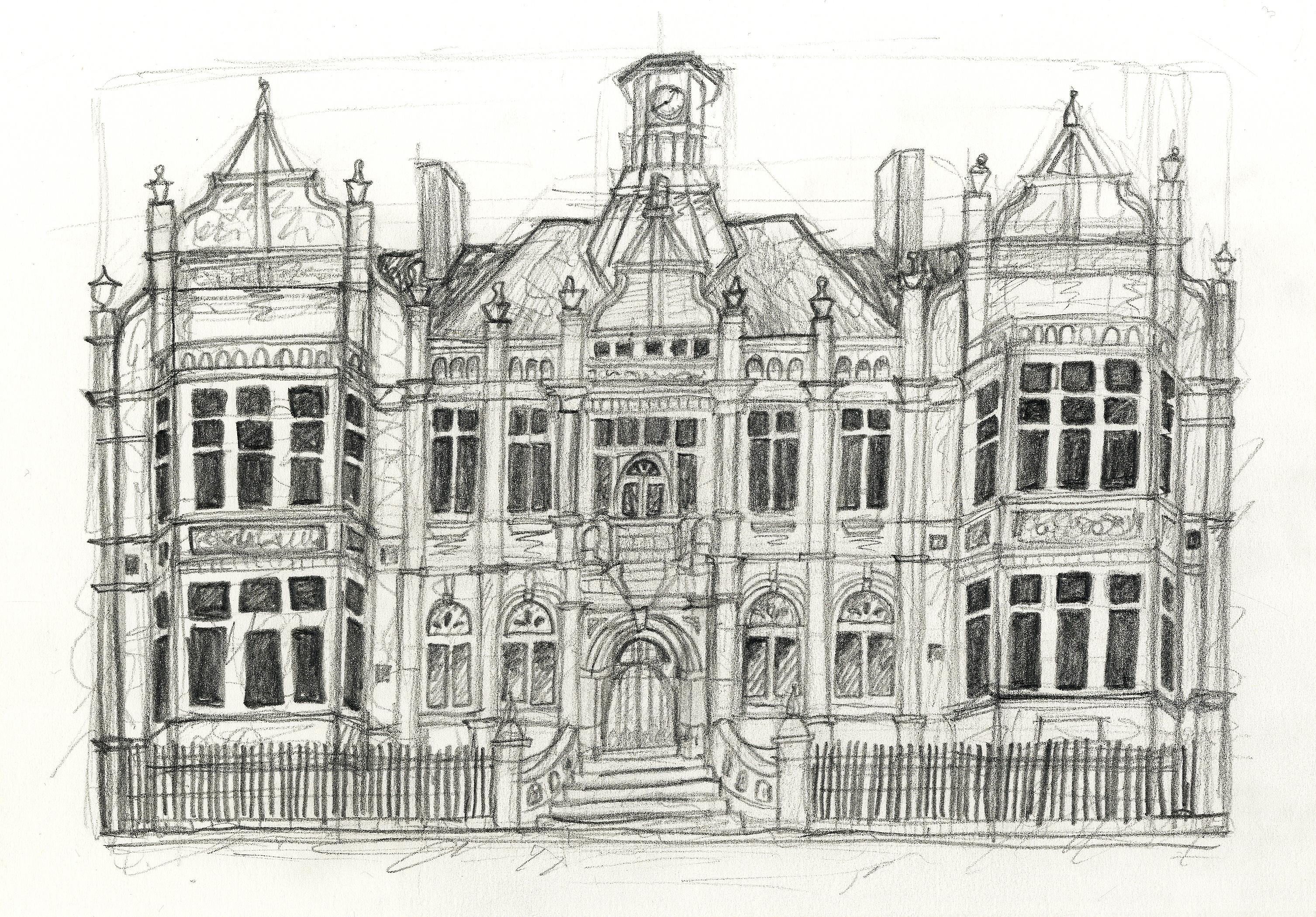 Merthyr 'Red House' Illustration