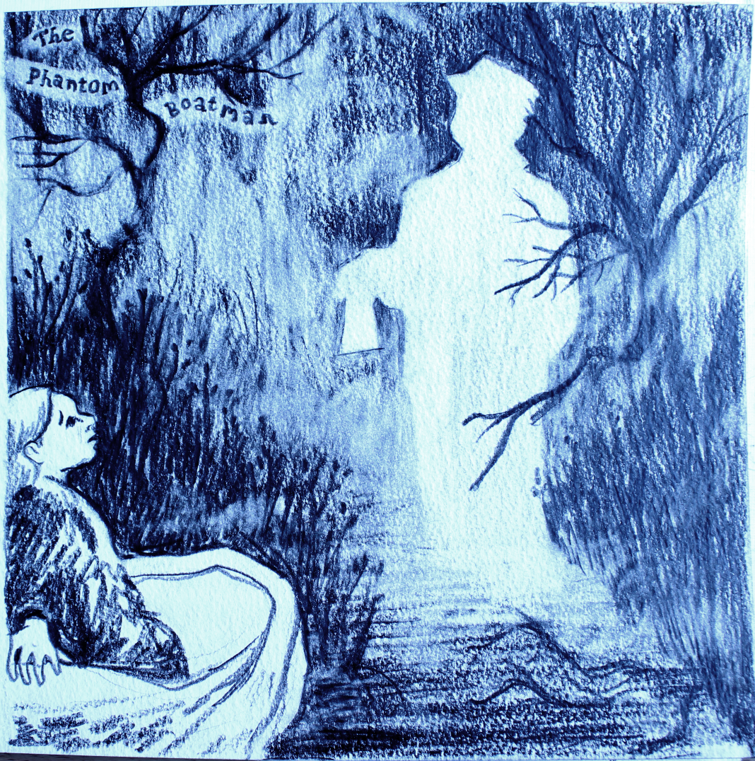 Phantom Boatman Illustration
