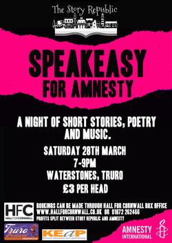 Speakeasy Poster