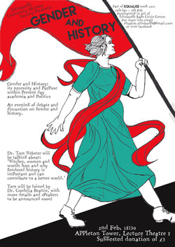 Equalise 'Gender and History' Poster