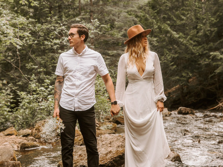 An Intimate Northern Michigan Elopement | Chelsea & Colton