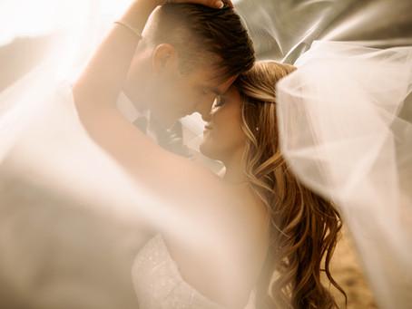 Romantic Summer Wedding in Michigan | Josh + Lisa