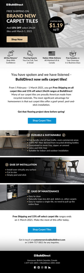 Email Carpet Tile DYIs