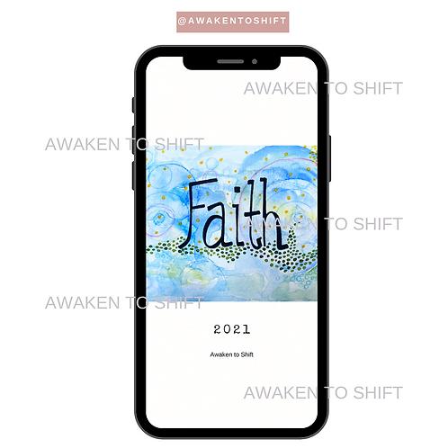 My 2021 Word: Faith