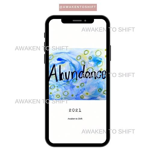 My 2021 Word: Abundance