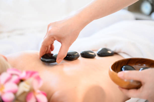 Hot Stone Treatment - Relaxing