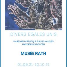 Выставка «РАЗНЫЕ - РАВНЫЕ - ЕДИНЫЕ - Художественный взгляд на универсальные ценности ООН»