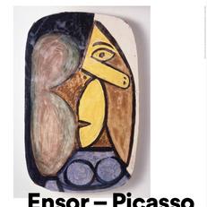 Выставка  «Энсор ‒ Пикассо»