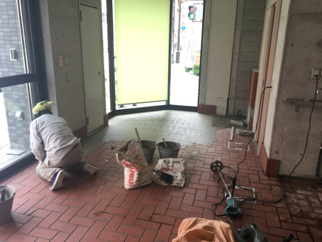 宝塚市 ブティックコンパル様 内装工事 着工しました