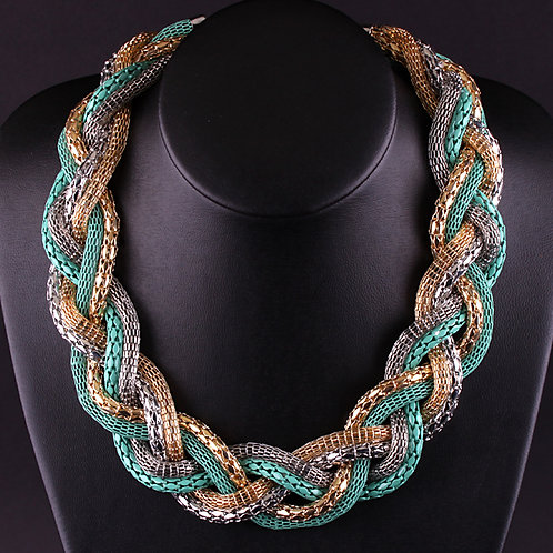 Multi Chain Gold Necklace