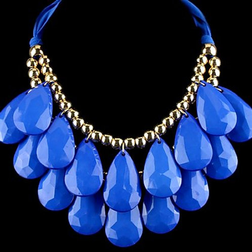 Royal Teardrop Necklace