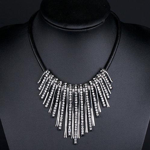 Diamond Waterfall Necklace