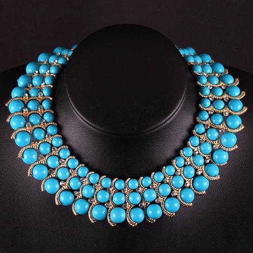 Beads & Diamonds Necklace