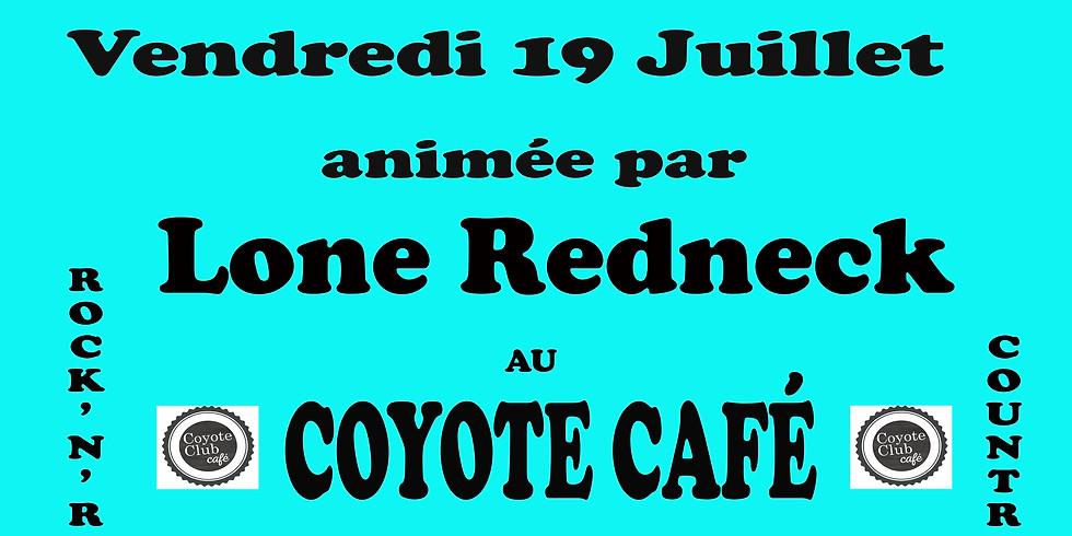 Soirée dansante au Coyote Café avec Lone Redneck