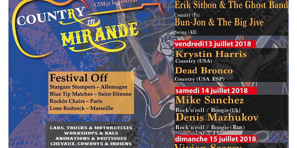 Festival Country Mirande