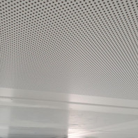 Ceiling Panel Post-Clean