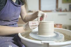 陶器のワークショップ