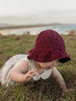 Wine Pattern Bucket Hat