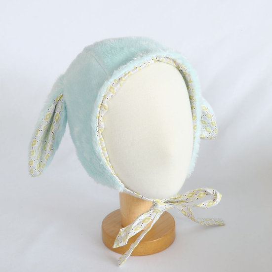 Snow Bunny Sky Winter Bonnet