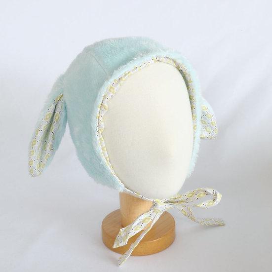 Snow Bunny Sky Winter Bonnet