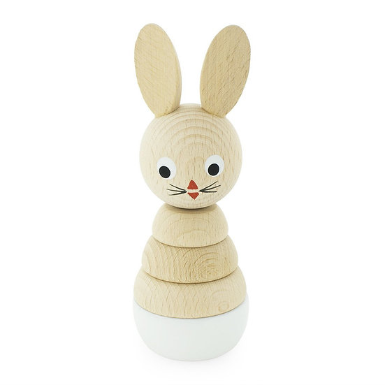 Wooden Rabbit Stacking Puzzle - Bonnie