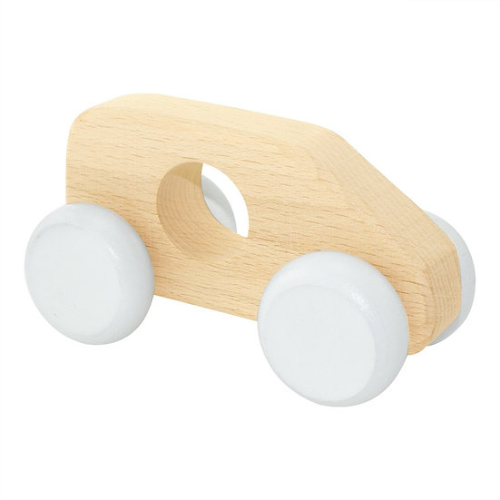 Wooden Push Along Toy Van - Sonny