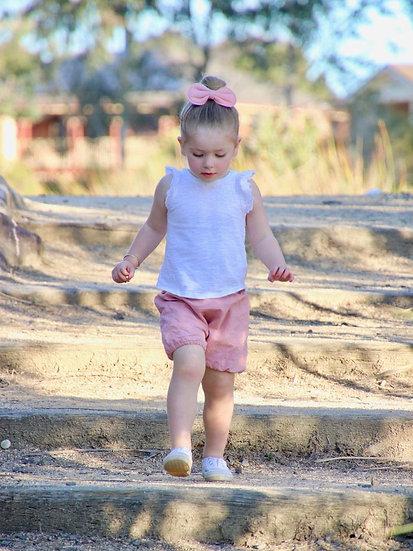 Natural Dye Pink Shorties