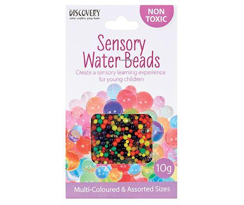 Sensory Water Beads 10g Asst Sizes