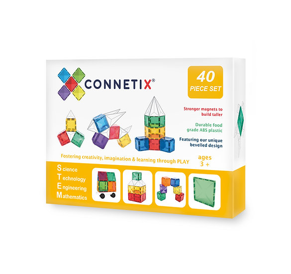 Connetix Tiles 40 Piece Set