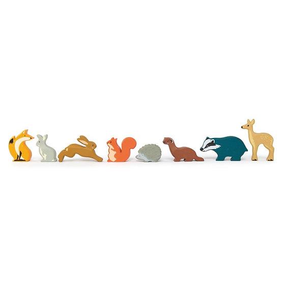 Woodland Animals 8 Piece Set