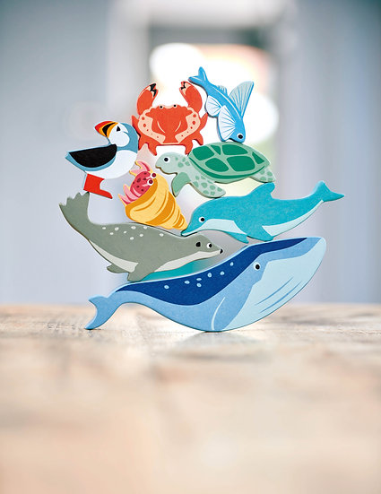 Coastal Animals 10 Piece Set