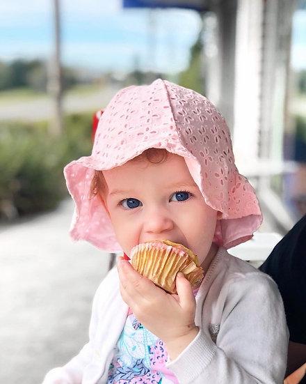 Pink Pattern Bucket Hat