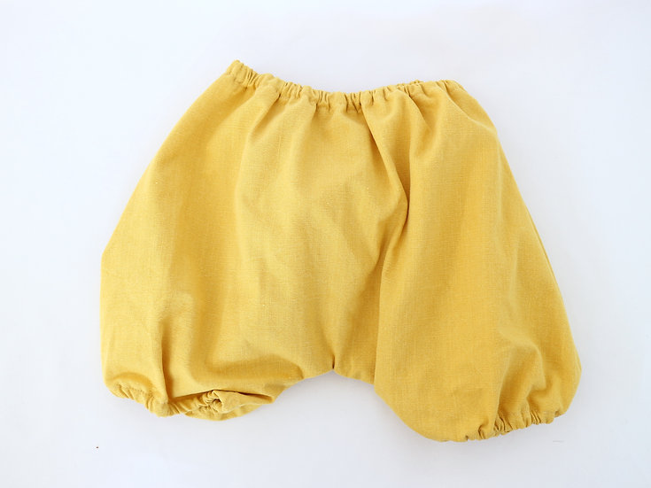 Natural Dye Yellow Shorties