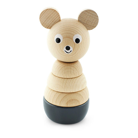 Wooden Bear Stacking Puzzle - Bernard